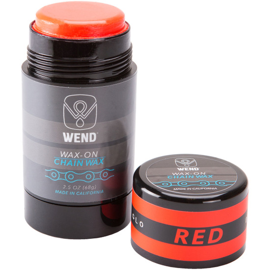 Taller WEND Wax-On Spectrum Colors 2.5oz Twist Up Red