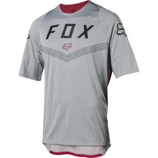 FOX Defend SS Fine Line Steel Grey Jersey