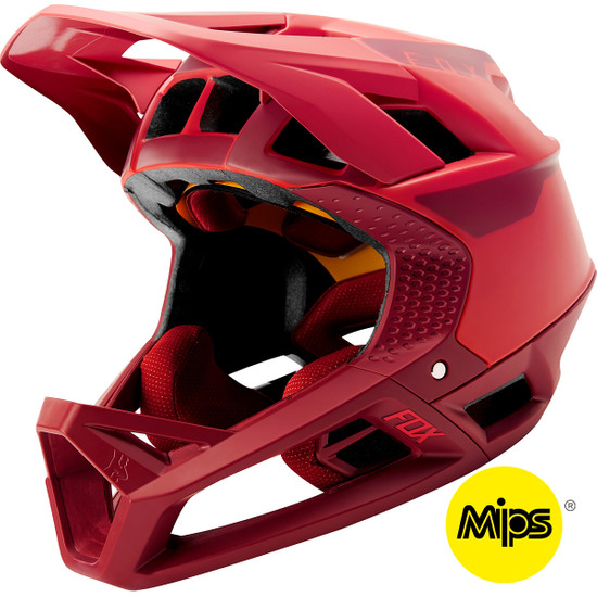 Casque FOX Proframe Quo Bright Red