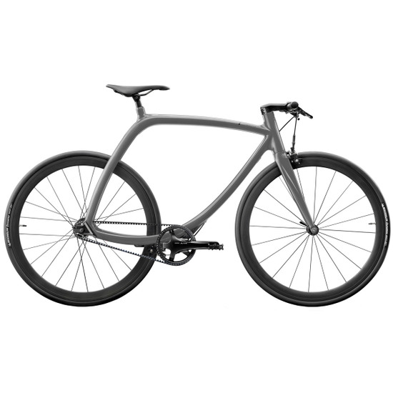Bicicleta urbana RIZOMA Metropolitan Bike R77 Meteor Grey Matte