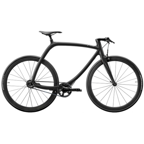 Vélo Urbain/Ville RIZOMA Metropolitan bike RS77 Cosmic Black Shiny