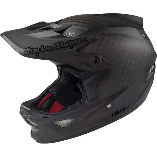 Casco TROY LEE DESIGNS D3 Carbon MIPS Midnight Black