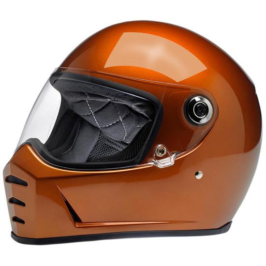 BILTWELL Lane Splitter Gloss Copper Helmet