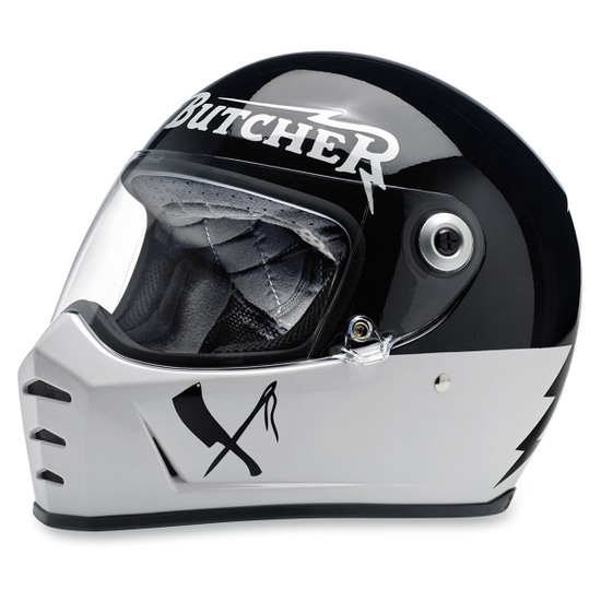 BILTWELL Lane Splitter Rusty Butcher Helmet