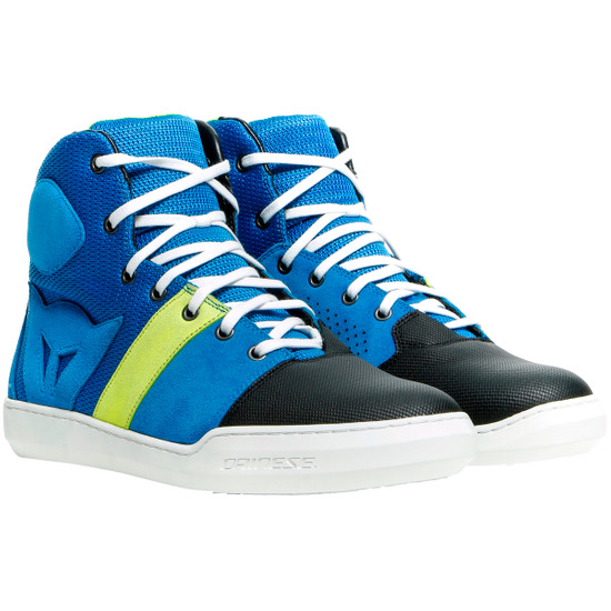 DAINESE York Air Performance-Blue / Fluo-Yellow Boots