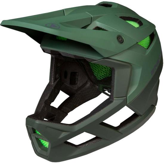 Casco ENDURA MT500 Full Face Forest Green