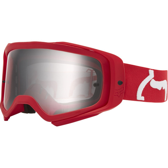 FOX Airspace II Prix Flame Red / Clear Goggles