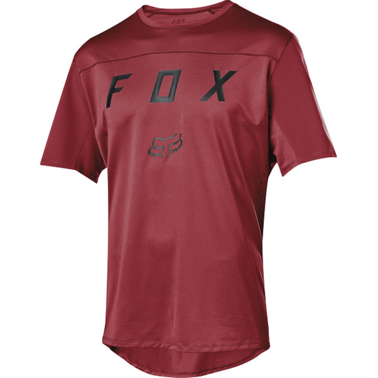 Camisola FOX Flexair SS 2019 Moth Cardinal