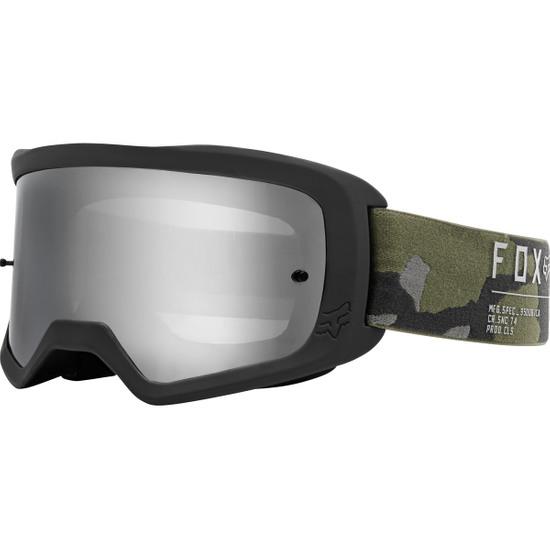 FOX Main II Gain Camo / Chrome Mirror Goggles
