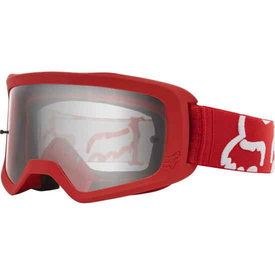 Occhiali FOX Main II Junior Race Red / Clear