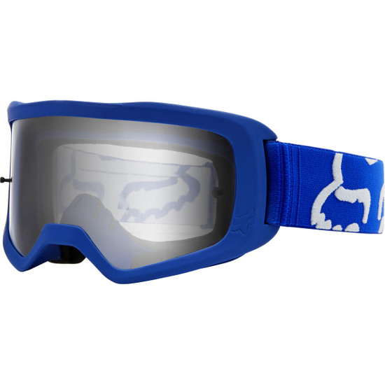 FOX Main II Race Blue / Clear Goggles