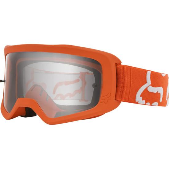 Lunettes FOX Main II Race Fluorescent Orange / Clear