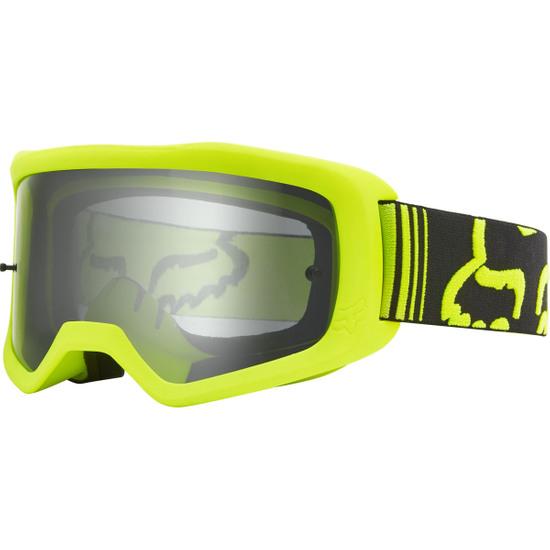 Lunettes FOX Main II Race Fluorescent Yellow / Clear