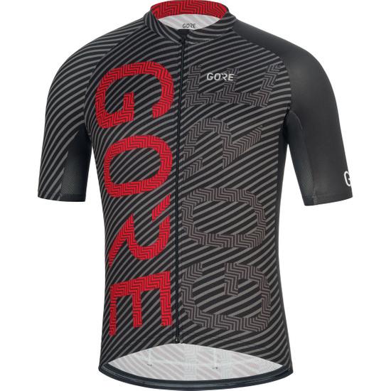 GORE C3 Brand Black / Red Jersey