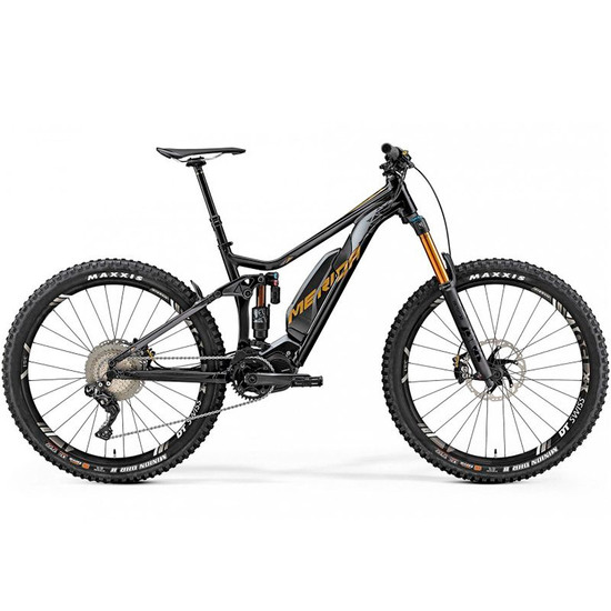 Bici da montagna MERIDA TEST e-One Sixty 900E 2019 Black / Gold