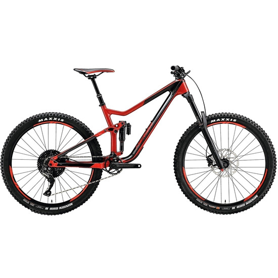 "Bicicleta de montaña MERIDA TEST - One Sixty 5000 27,5"" 2017 Black / Red"
