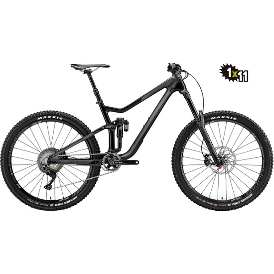 Bici da montagna MERIDA TEST One Sixty 7000 2017 Black / Anthracite
