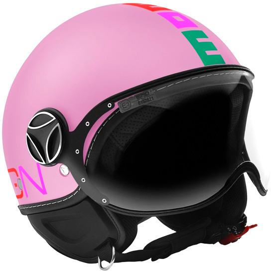 Casque MOMO FGTR Baby Pink Matt / Multi