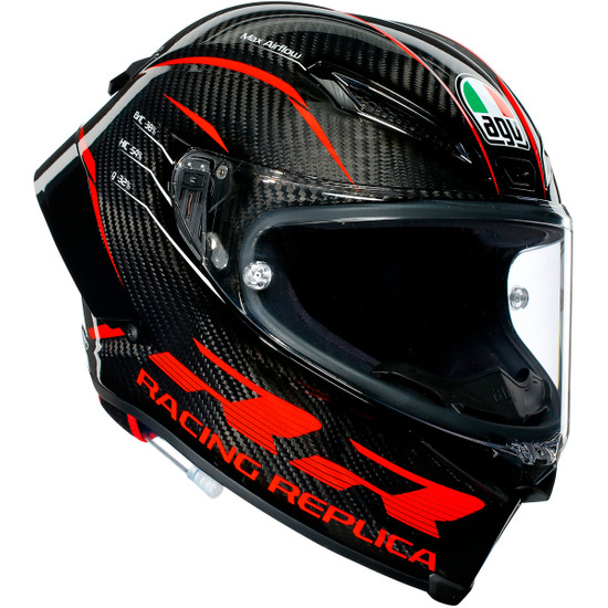 Capacete AGV Pista GP RR Performance Carbon / Red