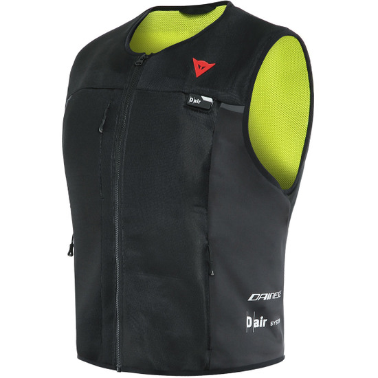 Protection DAINESE Smart Jacket Black / Yellow Fluo