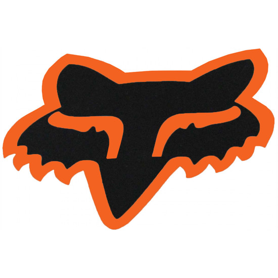 Autocollant FOX Head 7 Black / Orange