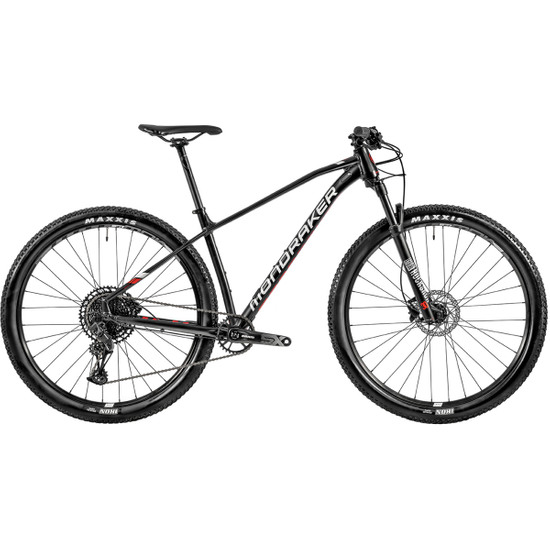 """Bicicleta de montaña MONDRAKER Chrono 29"""" 2020 Black / White / Flame Red"""