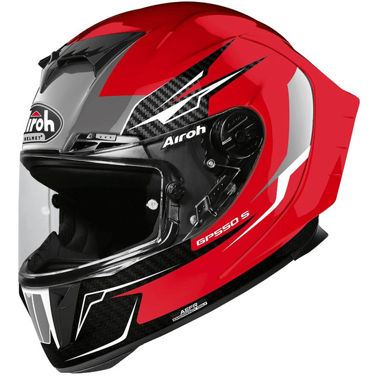 AIROH GP 550 S Venom Red Gloss Helmet