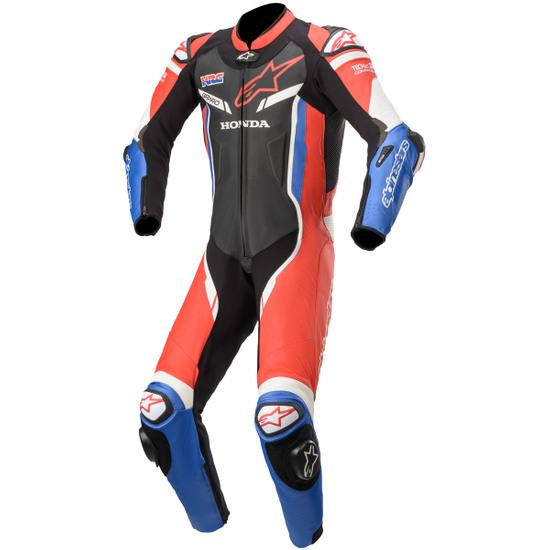 Combinaison ALPINESTARS GP Pro V2 Professional for Tech-Air Honda Black / Red / Blue