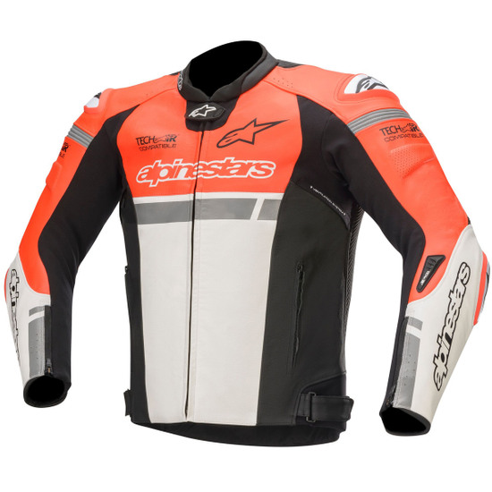Chaqueta ALPINESTARS Missile Ignition for Tech-Air Red Fluo / White / Black