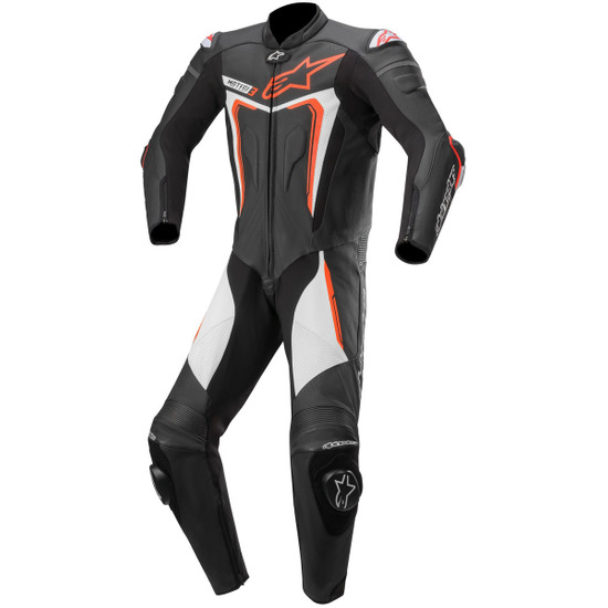 ALPINESTARS Motegi V3 Professional Black / Red Fluo / White Suit