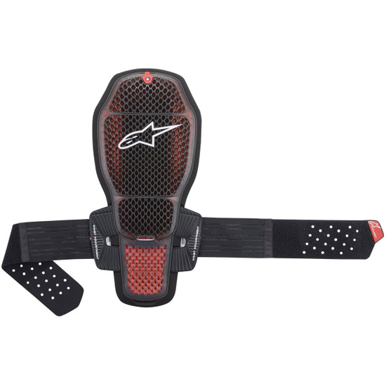 Proteccion ALPINESTARS Nucleon KR-R Cell Transparent Smoke / Red / Black