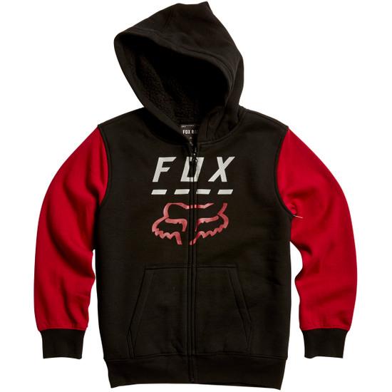 Sweatshirt FOX Highway Sherpa Junior Black / Red