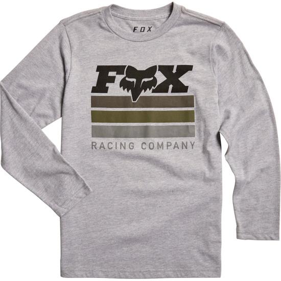 Camiseta FOX Street Legal Junior Light Grey