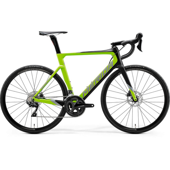 Bici da strada MERIDA Reacto Disc 4000 Carbon 2020 Green