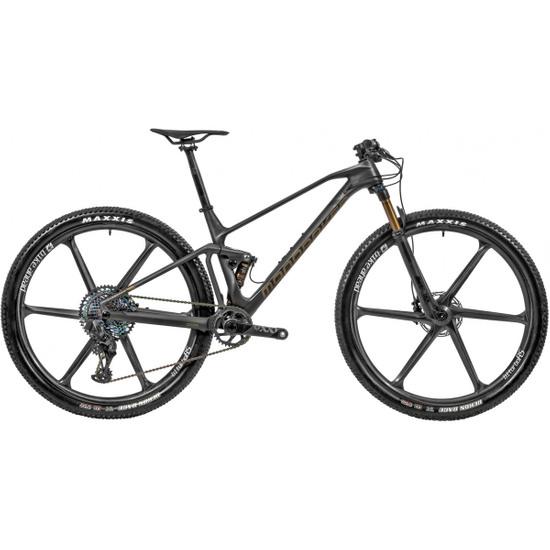 "Bicicleta de montaña MONDRAKER F-Podium Carbon RR SL 29"" 2020 Carbon / Gold / Black"