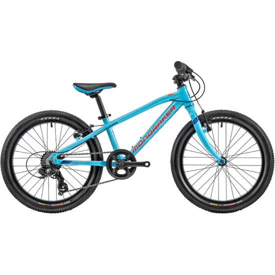 "Bicicleta de montaña MONDRAKER Leader 20"" 2020 Sky Blue / Fame Red / Dark Blue"