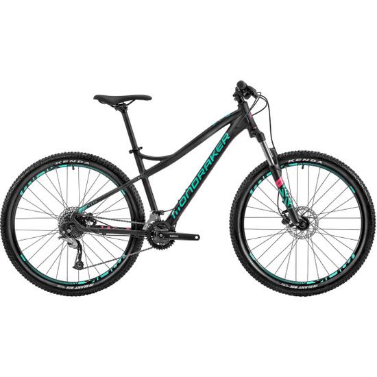 """Bicicleta de montaña MONDRAKER Neva 27,5"""" 2020 Black / Green / Pink"""