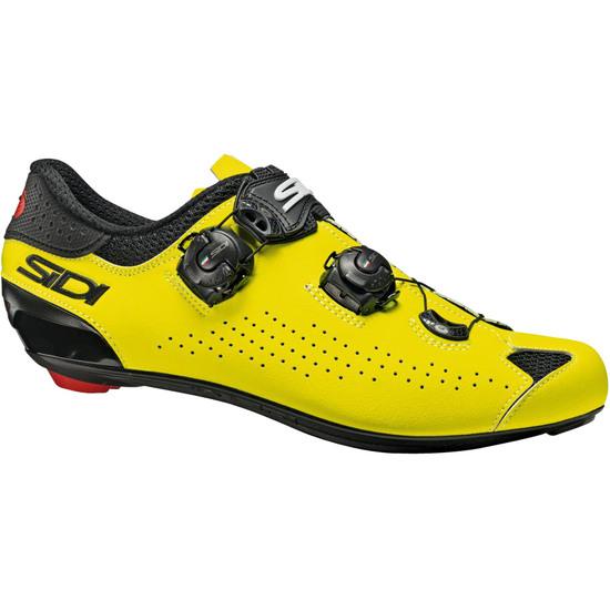 Zapatillas SIDI Genius 10 Yellow Fluo / Black
