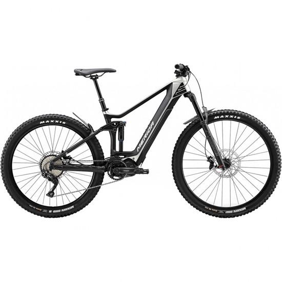 Mountainbike MERIDA e-One Forty 5000 E8000 2020 Titanium / Black