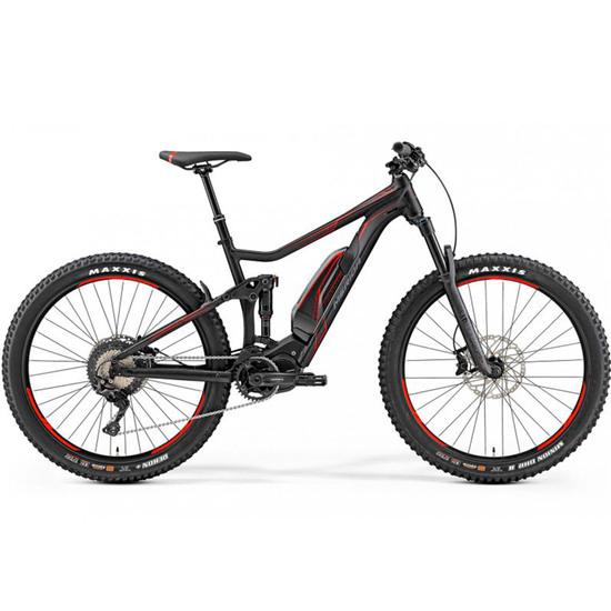 Bici da montagna MERIDA TEST e-One Twenty 800 2019 Black / Red