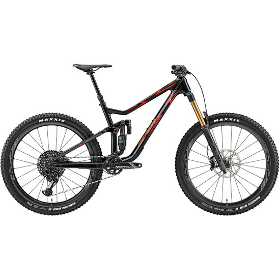 Bicicleta de montaña MERIDA TEST One Sixty Metalrida 2019 Black / Red