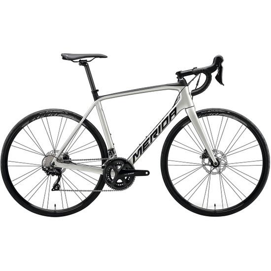 Bici da strada MERIDA TEST Scultura Disc 4000 2020 Titanium / Black