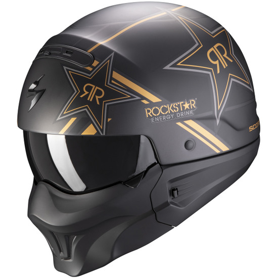 Helm SCORPION Exo-Combat Evo Rockstar Gold