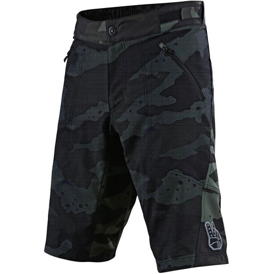 Bermudas TROY LEE DESIGNS Skyline Air with Liner Solid Camo Green