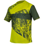 ENDURA SingleTrack Dots T Limited Edition Lime Green