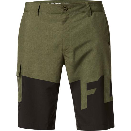 Pantalon FOX Essex Tech Print Olive Green